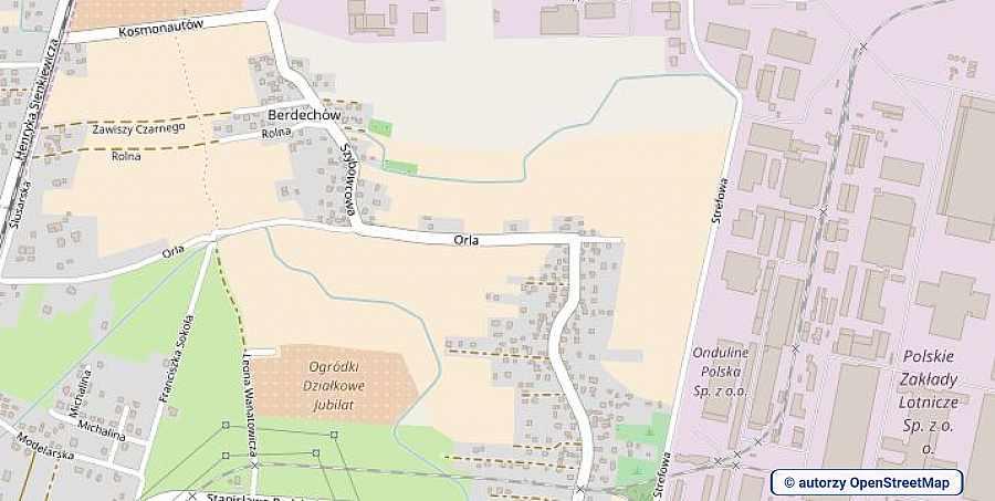 lokalizacja oferty 3086 LOKUM Nieruchomości Mielec na mapach OpenStreetMap