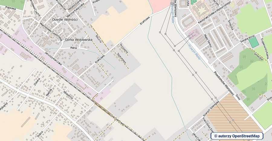 lokalizacja oferty 3091 LOKUM Nieruchomości Mielec na mapach OpenStreetMap
