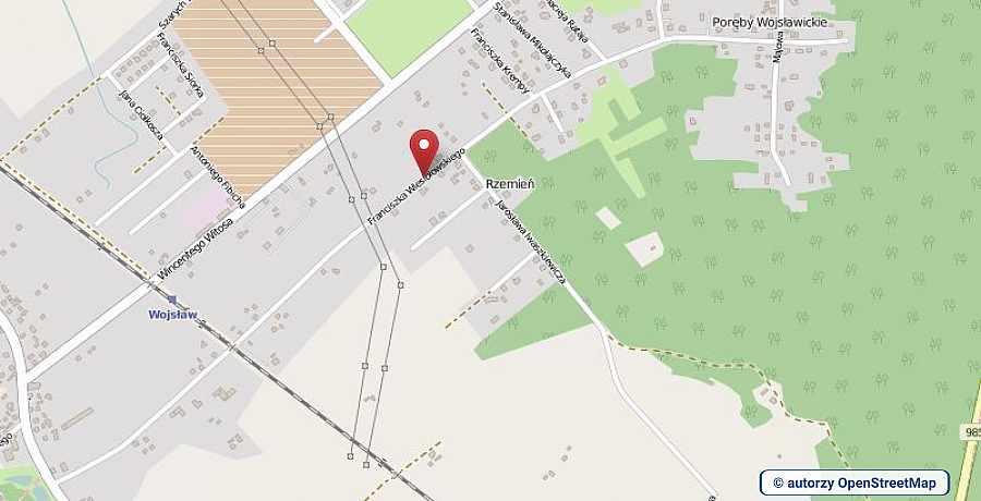 lokalizacja oferty 3075 LOKUM Nieruchomości Mielec na mapach OpenStreetMap