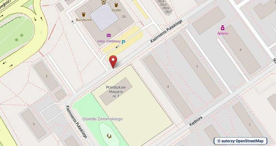 lokalizacja oferty 00760 LOKUM Nieruchomości Mielec na mapach OpenStreetMap